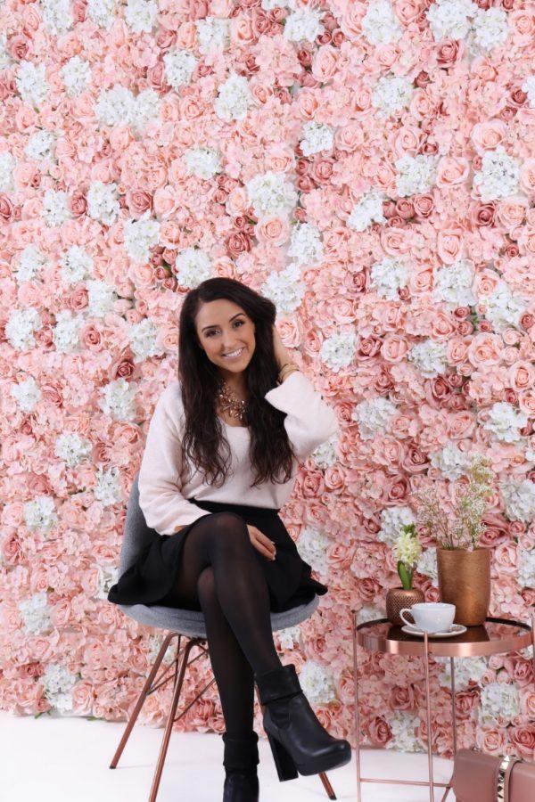 Blumenwand Fairytale