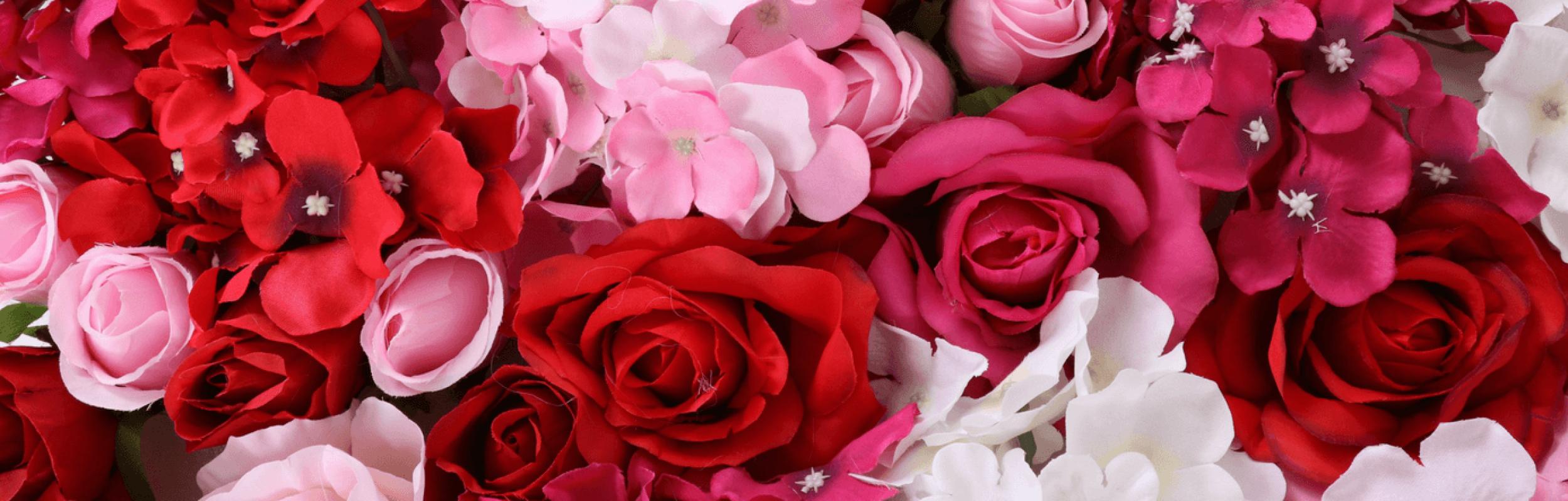 Blumenwand mieten