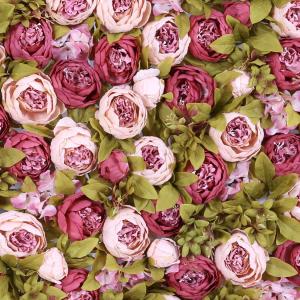 Blumenwand Romantica