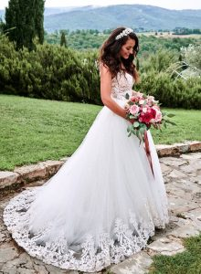 FairyFlowers Wedding Dress