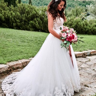 FairyFlowers Wedding Dress